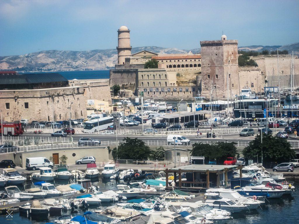 Vieux port vue sur fort saint Nicolas